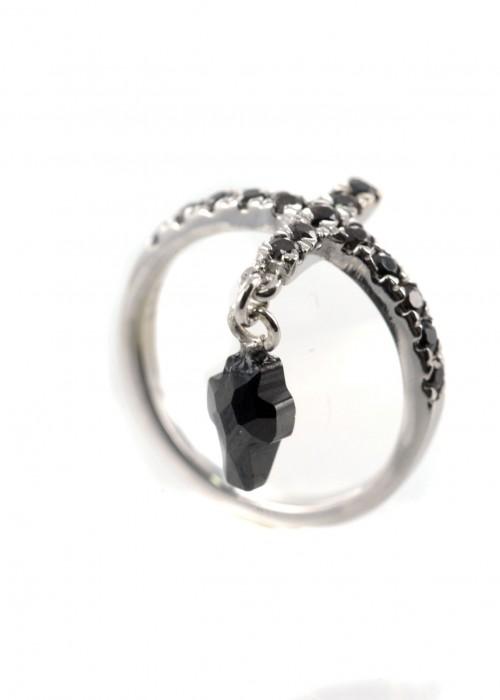Δαχτυλίδι με τον κρεμαστό σταυρό| L'or.D