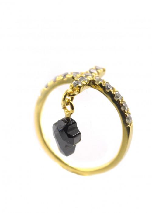 Midi δαχτυλίδι με σταυρό | L'or.D
